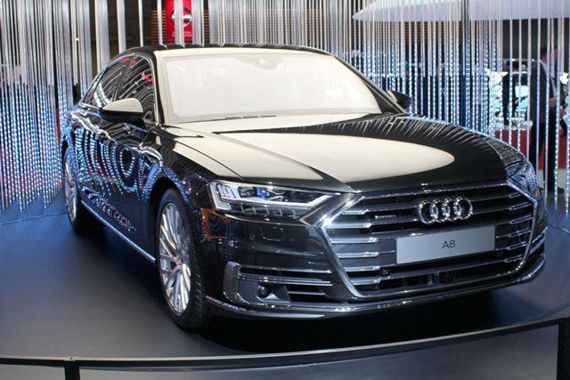 新しい「A8」は、レベル3の自動運転を実用化した世界初の自動車として注目されている