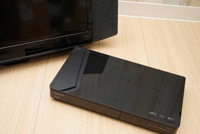放送受信やBDドライブはチューナー部に搭載