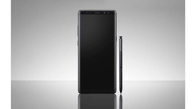 「Galaxy Note8」と「Sペン」
