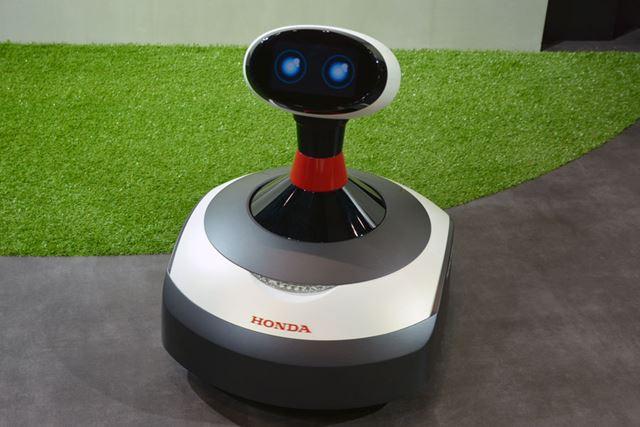 """AI搭載の芝刈り機「Ai-Miimoコンセプト」は、""""知能化""""への取り組みだ"""