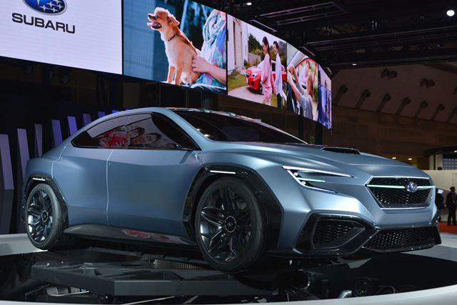 「SUBARU VIZIV PERFORMANCE CONCEPT」も、将来のスバル車のイメージを具現化したものだ