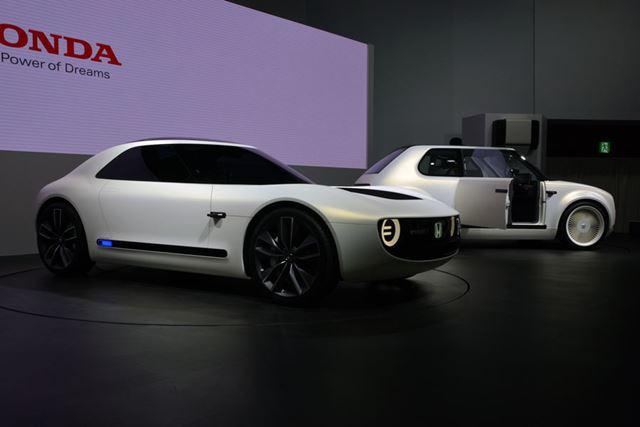 ホンダの「Sports EV Concept」と「Urban EV Concept」は、EV化が進む世界のトレンドに合致している