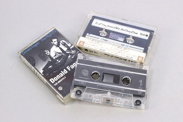 こちらはチェックに使用した筆者所有のカセットテープ。いまだに現役である