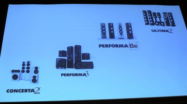 REVELのスピーカー製品は4ラインに拡充された