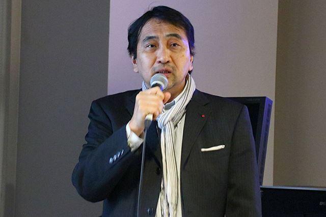 ライカの長い歴史を説明するライカジャパンの米山和久氏