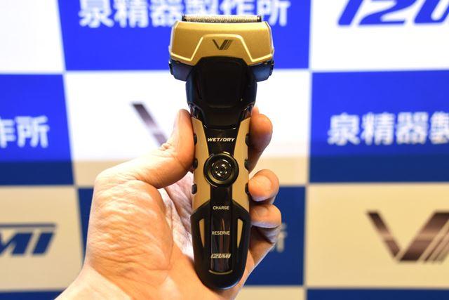 「MIL」規格に準拠した「A-DRIVE」シリーズの4枚刃モデル「IZF-V757-C」
