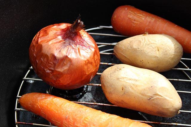 さらに加熱すること約20分。野菜にもしっかり火が通りました