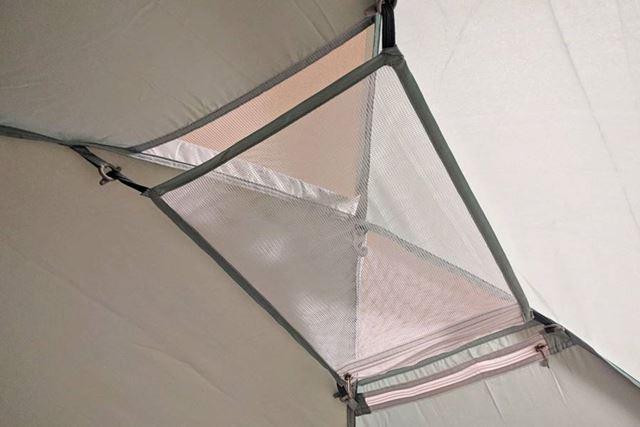 テント内天井部分