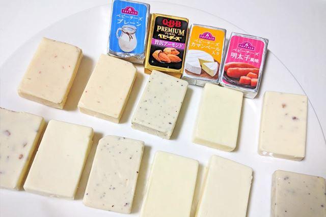 まずは定番のベビーチーズの燻製を作りたいと思います
