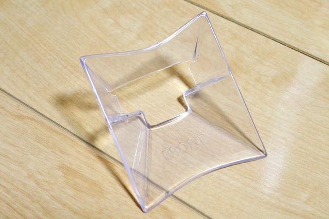 アダプターです。中に入れるものが小さい場合や排出量を少なめにしたいときに使用します