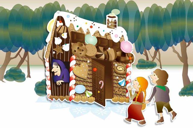 ヘンゼルとグレーテルに出てきたお菓子の家に住みたい…