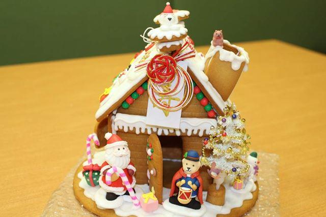 お菓子の家 お正月バージョン
