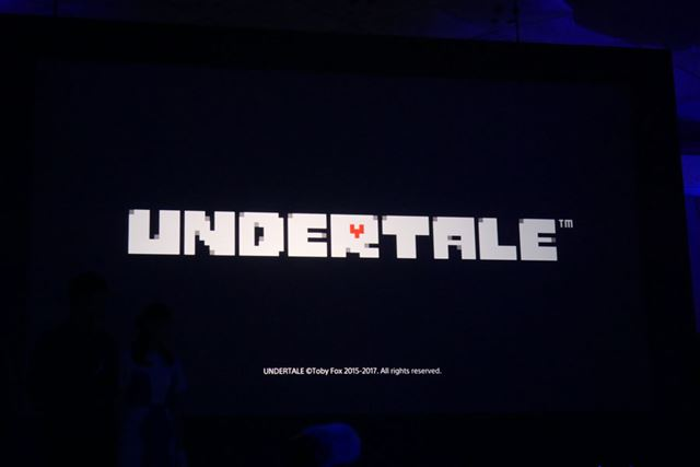 「UNDERTALE」(ダウンロード専用タイトル)