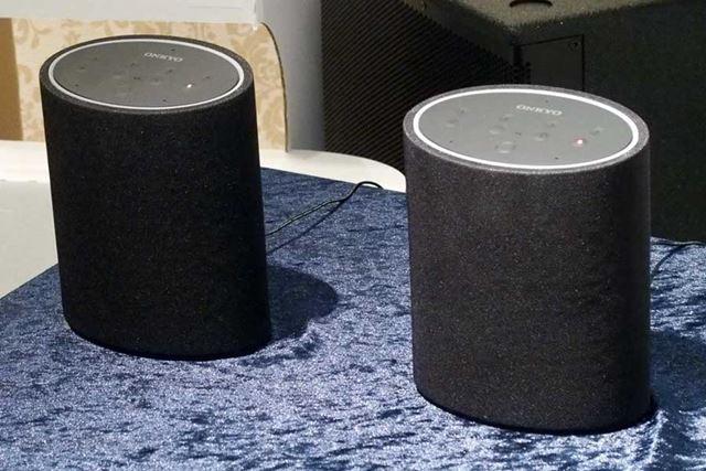 Amazon AlexaとDTS Play-Fiをサポートする「P3」。市場想定価格は30,000円前後(税別)だ