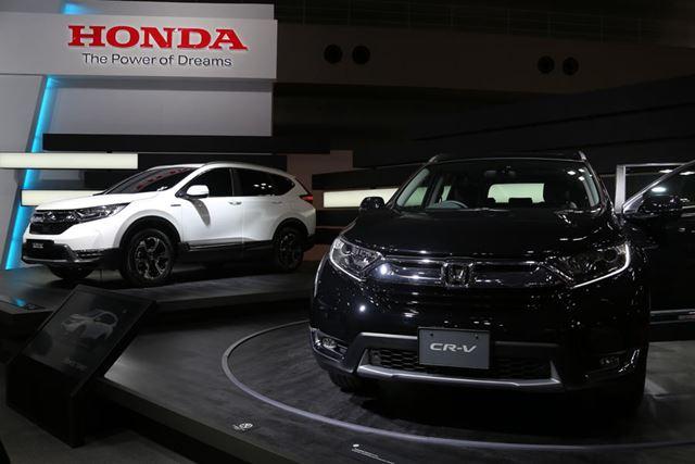 ホンダ 新型「CR-V」/東京モーターショー2017にて撮影