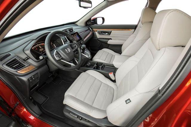 ホンダ 新型「CR-V」北米モデルのフロントシート