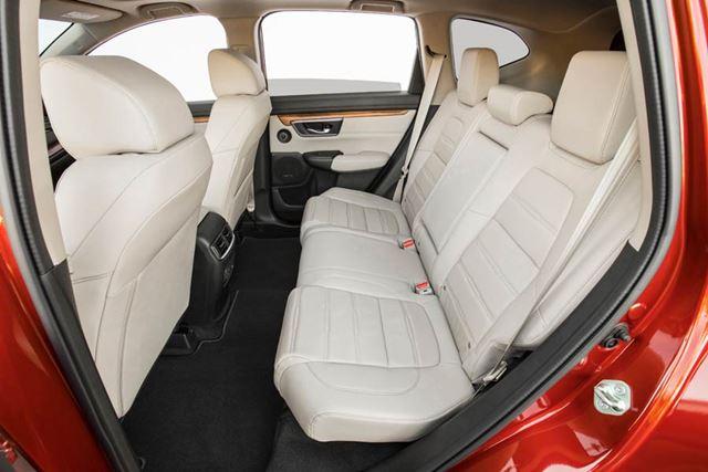 ホンダ 新型「CR-V」北米モデルのリアシート