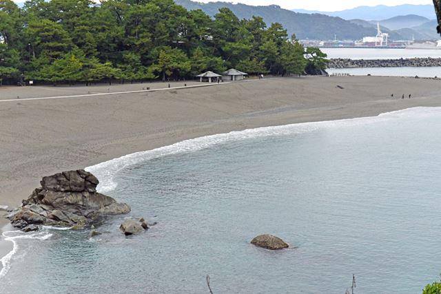 最初に訪れたのは、高知県を代表する名所のひとつ桂浜