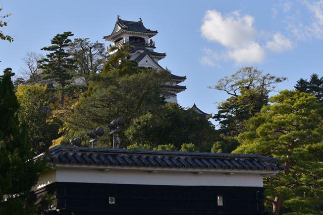 南海の名城、高知城に到着!