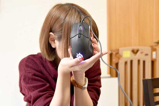 """今回、""""すちーむ☆まにあ""""が選んだのは、SteelSeries の1対1eスポーツセンサーマウス「Rival 310」"""