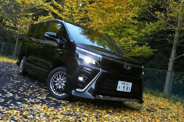 トヨタ 新型「ヴォクシー ZS ハイブリッド」フロントイメージ
