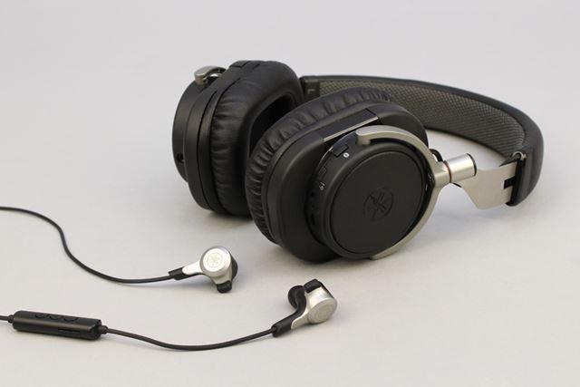 Bluetoothイヤホン「EPH-W53」とBluetoothヘッドホン「HPH-W300」がヤマハらしくておもしろい