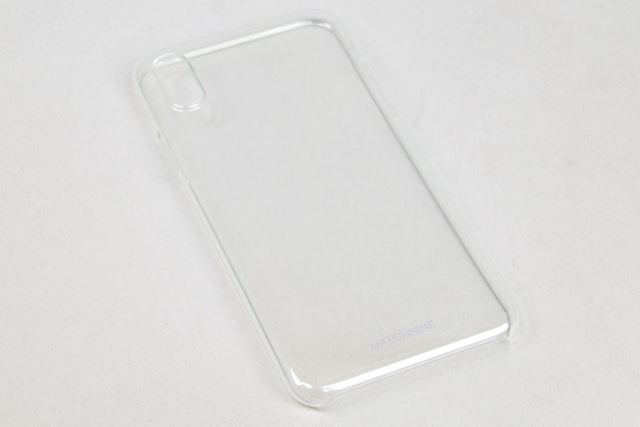 「Matchnine HORI for iPhone X」は、写真のクリアとブラックの全2色で展開