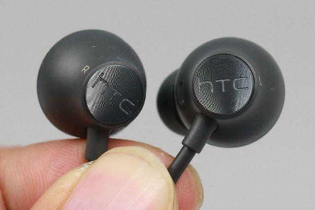 同梱のハイレゾ音源対応イヤホンはUSB Type-Cポート接続となる