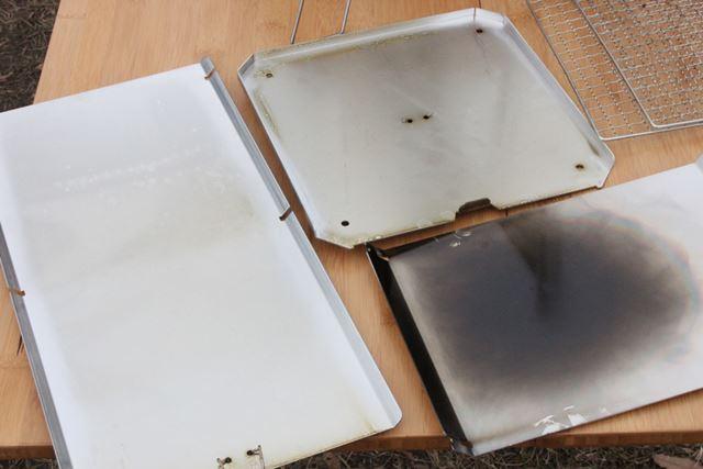 使用後のスモーカー内側はヤニでかなり汚れ、ニオイも強烈についています
