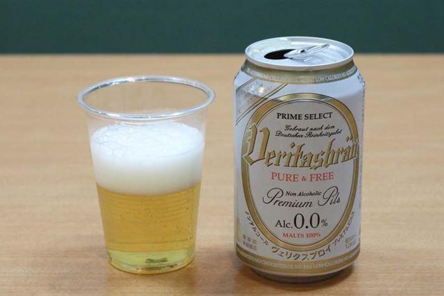 アルコール度数:0.0%/カロリー:12kcal(100ml当たり)/炭水化物:2.6g(100ml当たり)