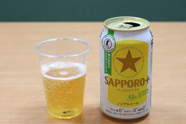 アルコール度数:0.00%/カロリー:0kcal(100ml当たり)/糖質:1.4g(100ml当たり)