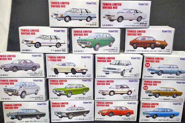 自分の手持ちコレクションでも圧倒的に日産車が多いのでした
