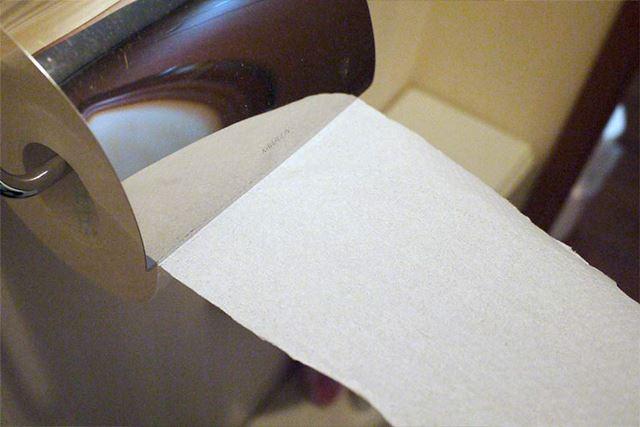 柔らかいながらしっかりとした紙でミシン目でしっかり切れます