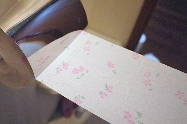 柔らかさよりも吸水力を選択するならこちら。シャワー後も紙がぬれてくにゃっとなることがありません