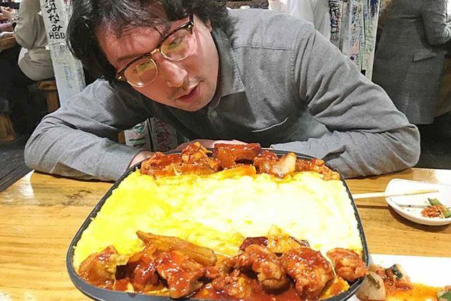 チーズタッカルビを食べに来ました