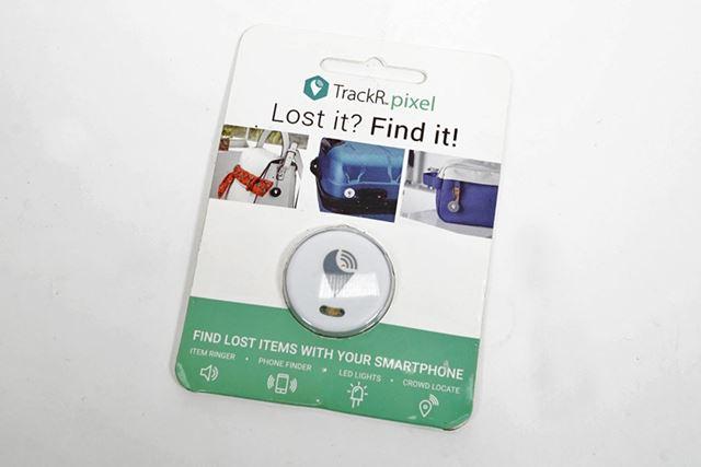 財布やカバン、キーケースなどに付けられる追跡アイテム