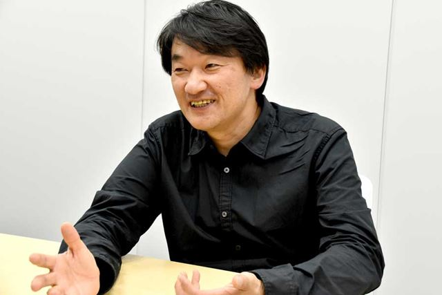 衝撃を受けたPsionとの出会いなど、当時の思い出を笑顔で語ってくれた山根氏