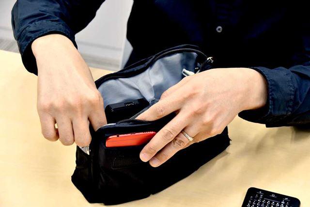 初代「博士と一緒にオフ会バッグ」。山根氏が監修しており、細かいところまでよく作り込まれている