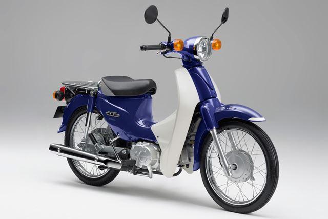 2009年に発売された「スーパーカブ110」は丸型ヘッドライトを採用し、好評を博した