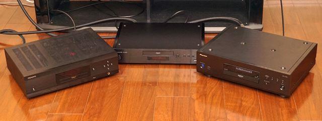 OPPO「UDP-205」、パナソニック「DP-UB9000(Japan Limited)」、パイオニア「UDP-LX800」の3機種を比較