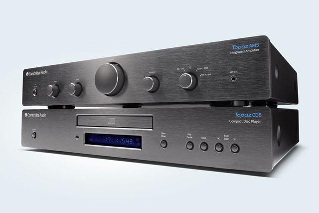プリメインアンプ「Topaz AM5」&CDプレーヤー「Topaz CD5」