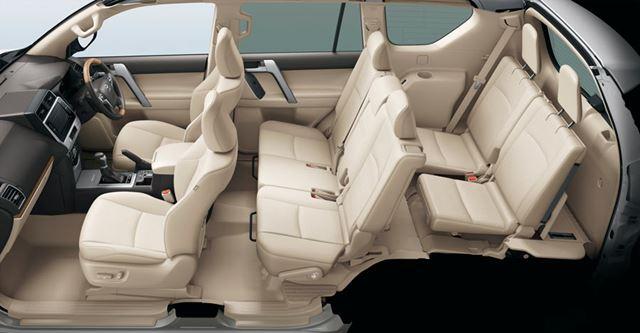 トヨタ 新型「ランドクルーザープラド」インテリア