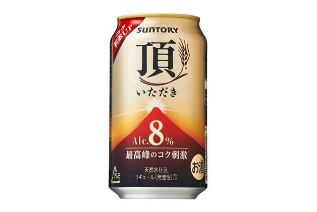 アルコール度数が8%にアップした新ジャンル飲料「頂<いただき>」
