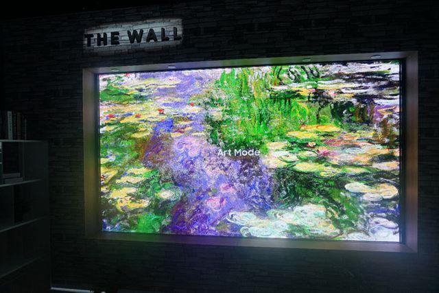サムスンによる新方式パネル「The Wall」