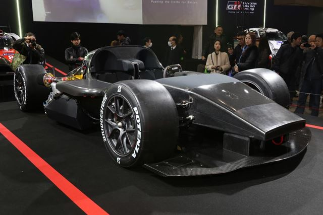 GR Super Sport Concept TEST CAR