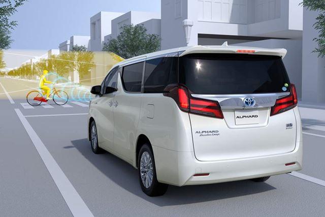 これまでの「Toyota Safety Sense P」では対応していなかった、自転車や夜間の歩行者についても、第2世代版「Toyota Safety Sense」では検知可能となった