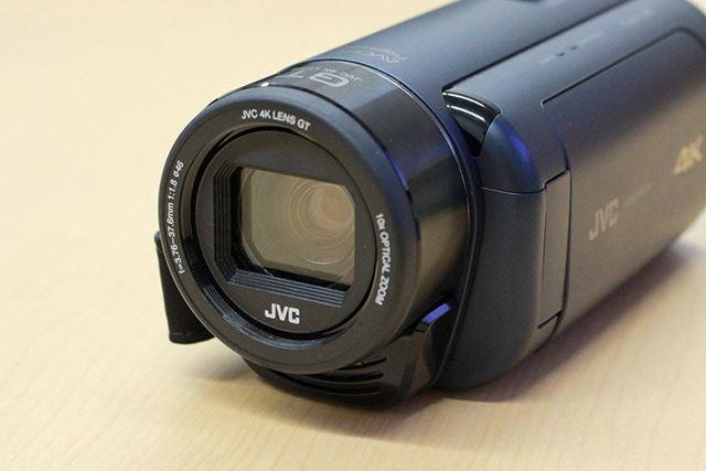 新開発の「JVC 4K GTレンズ」