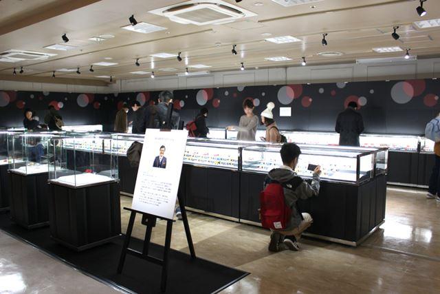 森永氏はトミカを約15,000台所持しているというから驚き! 本イベントでの展示品はあくまで一部だ