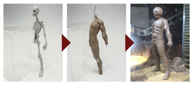 公式サイトの説明画像です。まさに骨から作られています
