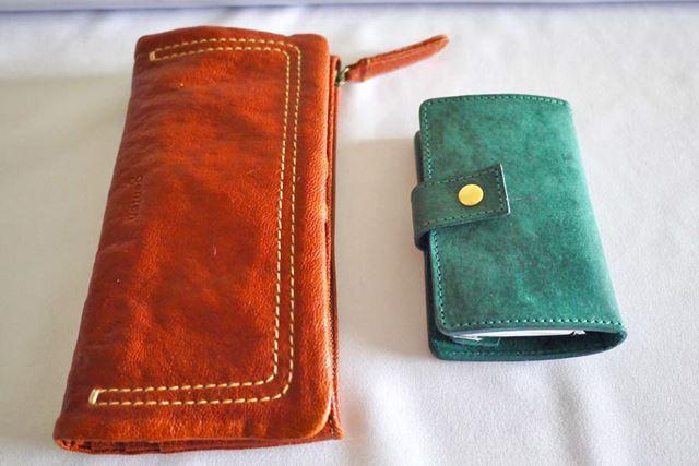 一般的な長財布と比較して